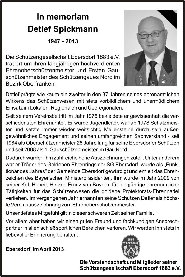 Detlef Spickmann +06.04.2013 (Auszug aus SGE Festschrift 2013, S. 9)
