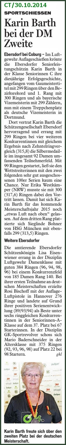 CT vom 30.10.2014 (Foto: G. Barth)