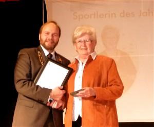Sportlerin des Jahres 2014: Karin Barth